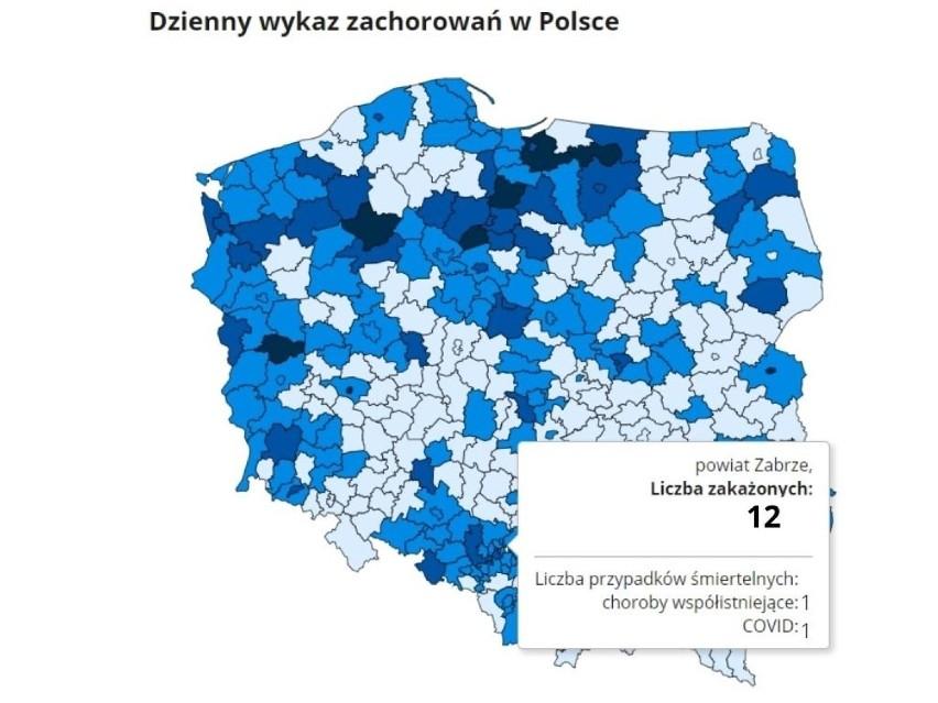 Najwięcej chorych na COVID-19 przybyło znów w woj. śląskim....