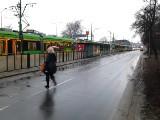 Most Dworcowy w Poznaniu: Tramwaje jechały na czołówkę