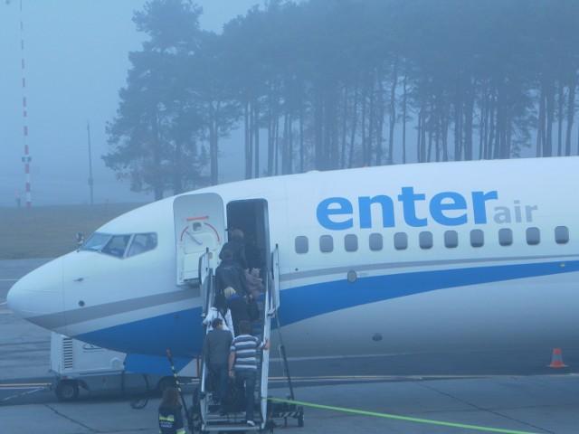 Dziś (7 listopada) wystartował pierwszy samolot w ramach ...