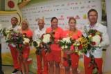 Olimpijscy medaliści na Ławicy: Wspaniałe przywitanie naszych sportowców! [ZDJĘCIA]