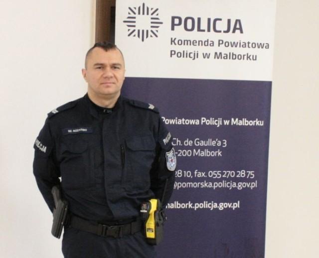 st. sierż. Szymon Różański