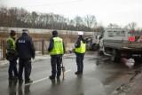 Śmiertelny wypadek w Stanisławicach. Dwa samochody zderzyły się czołowo [ZDJĘCIA]