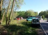 Śmiertelny wypadek w Gliwicach na Czołgowej. Tir uderzył w forda fiestę. Nie żyje 42-letnia kobieta