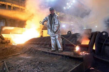 Wpływ na zdrowie dąbrowian ma także przemysł ciężki. Fot. Arkadiusz Gola
