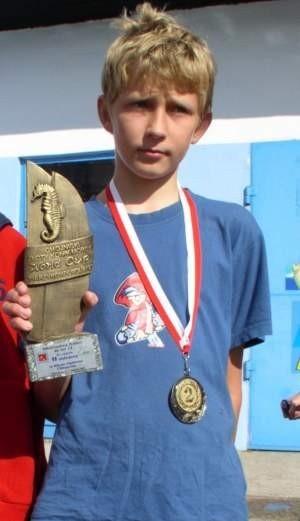Wojtek Chamier Cieminski będzie reprezentował Polskę na mistrzostwach Europy.