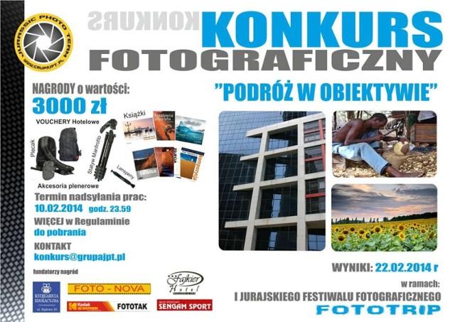 """Jurajski Festiwal Fotograficzny """"Fototrip"""" odbędzie się 22 lutego."""