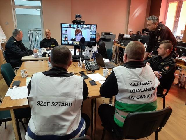 """Ćwiczenia sztabowe odbywały się pod kryptonimem """"ZDR International Paper Kwidzyn – 2021"""""""