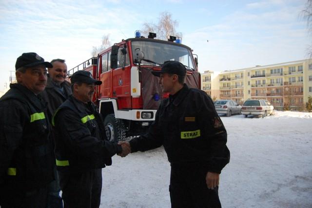 Strażacy z Ogorzelin odebrali już sporne auto bojowe