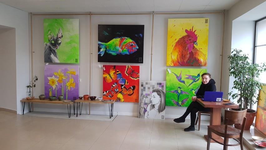 Galerię sztuki prowadzi Katarzyna Wincełowicz