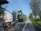 Trwa remont DK 55 między Tragaminem a Malborkiem. GDDKiA apeluje o ostrożność