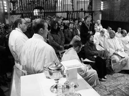 W miniony weekend Jasną Górę odwiedzili poza wodociągowcami także inni pielgrzymi, między innymi artyści.