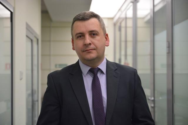 Adam Mołdoch, zastępca dyrektora Centrum Interwencji Kryzysowej w Lublinie