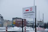 Ulica Zielonogórska w Żarach. Jest nowa organizacja ruchu, ale z powodu zimy roboty stanęły w miejscu