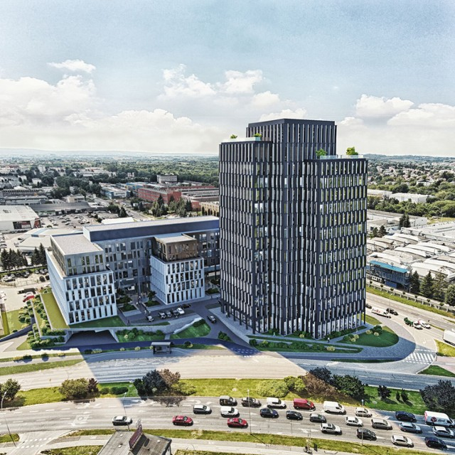 Takie budynki mogły powstać przy ul. Przemysłowej w Rzeszowie. Inwestor zaniechał jednak dalszych działań w tym kierunku
