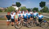 Rajd rowerowy dla osób 50+ odbył się w gminie Skoki. Zobacz zdjęcia