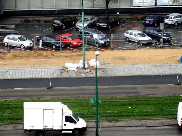 Remont alei Korfantego w ramach przebudowy centrum Katowic