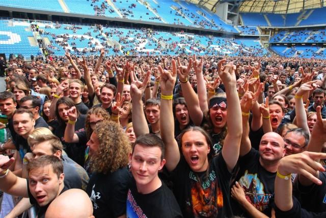 Na INEA Stadionie w Poznaniu w 2014 roku wystąpił Iron Maiden