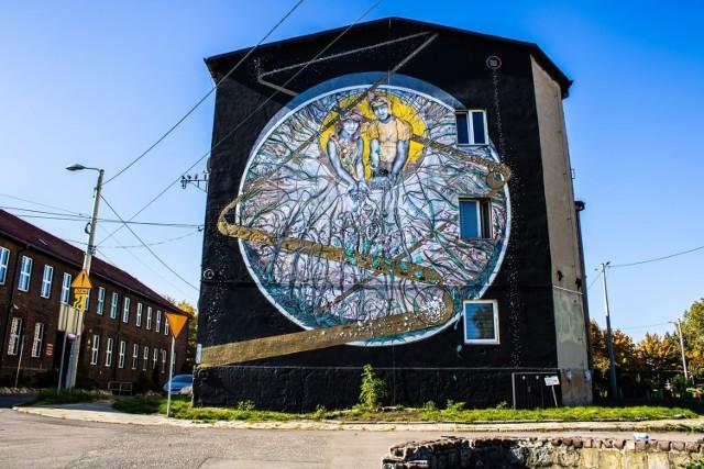 Nowy mural w Szopienicach