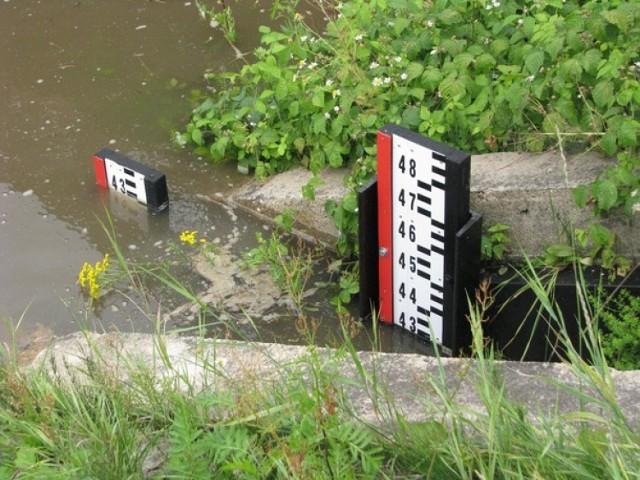 Po ostatnich opadach na wielu rzekach przekroczony został stan alarmowy