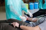 Akcja krwiodawstwa w staszowskim urzędzie. Prawie 20 litrów krwi trafiło do Regionalnego Centrum Krwiodawstwa i Krwiolecznictwa w Kielcach