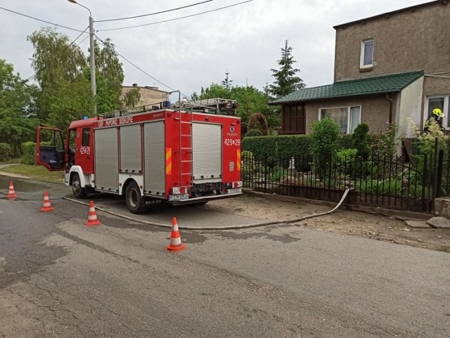 Po ulewach strażacy m.in. pompowali wodę z zalanych piwnic. Co się wydarzyło się w powiecie chełmińskim w miniony weekend?