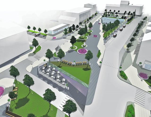 Po rewitalizacji główną atrakcją centrum miasta mają być odkryte i przeszklone zabytkowe piwnice. Metamorfoza rynku może kosztować nawet 12 mln złotych