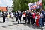 Wybory 2020. W Margoninie zachęcano do głosowania na Andrzeja Dudę [ZDJĘCIA]