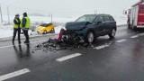 Zdarzenie w Niewieścinie pod Świeciem. W wypadku ucierpiały 4 osoby, w tym dziecko