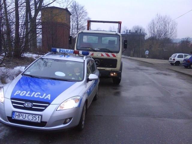 Ciężarówkę udało się zatrzymać w bezpiecznym miejscu
