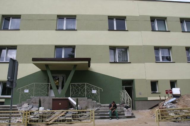 Szkoła Specjalna nr 2 na ul. Szpitalnej 85, do której chodził Damian